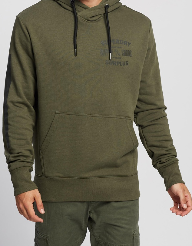 Superdry - Surplus Goods Graphic Hoodie