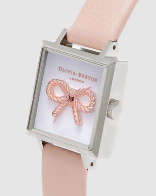 Olivia Burton Vintage Bow - Watches (Peach)