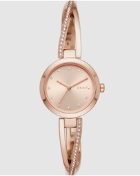 DKNY - Crosswalk Rose Gold-Tone Analogue Watch