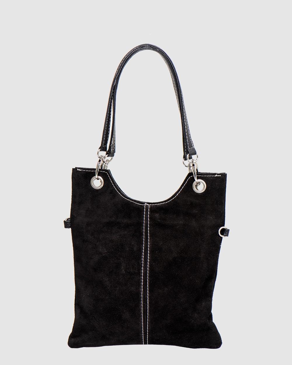 Marlafiji Inez Mini Shoulder Bag Bags Black Leather bags Australia