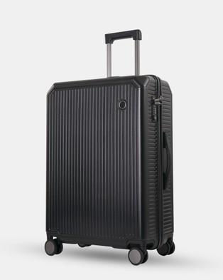 Echolac Japan Dublin Medium Case - Travel and Luggage (BLK)