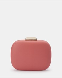 Olga Berg - Mila Rounded Simple Clutch