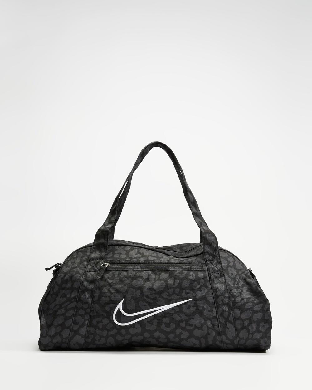 Nike Gym Club Bag 2.0 Duffle Bags Black, Dark Smoke Grey & White