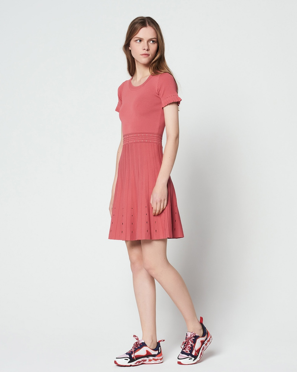 Sandro Etor Dress Dresses Raspberry Etor Dress