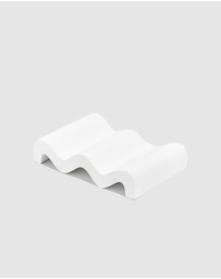 Fazeek - Wave Soap Dish White