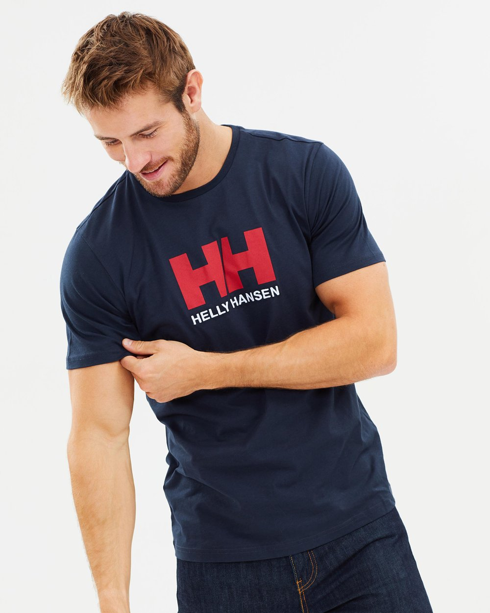 4990122efb HH Logo T-Shirt by Helly Hansen Online   THE ICONIC   Australia