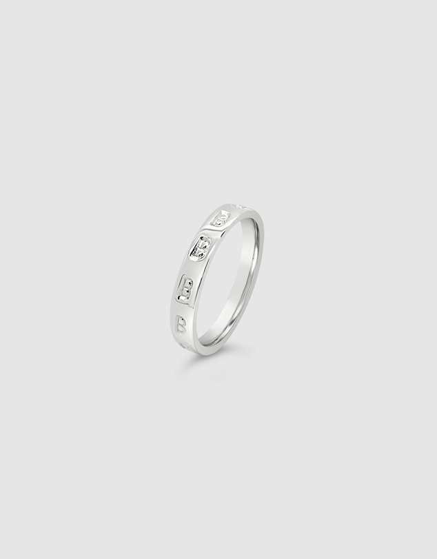 Women Personalised Letter B Ring