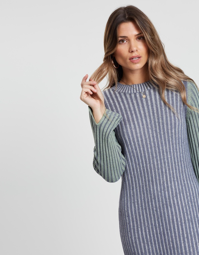 All About Eve - Connect Midi Rib Dress