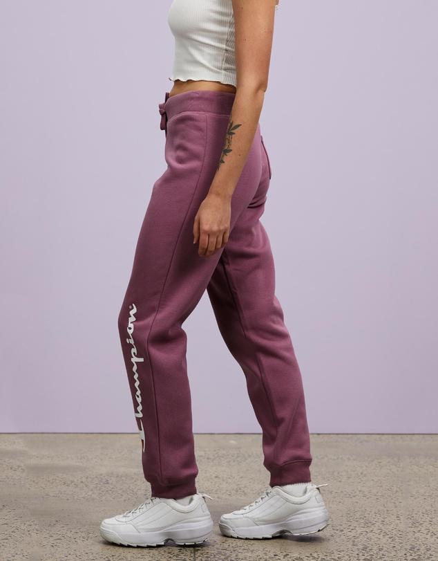Women Champion Script Cuff Pants
