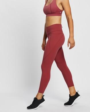 Sweaty Betty Power Workout 7 8 Leggings - 7/8 Tights (Renaissance Red)