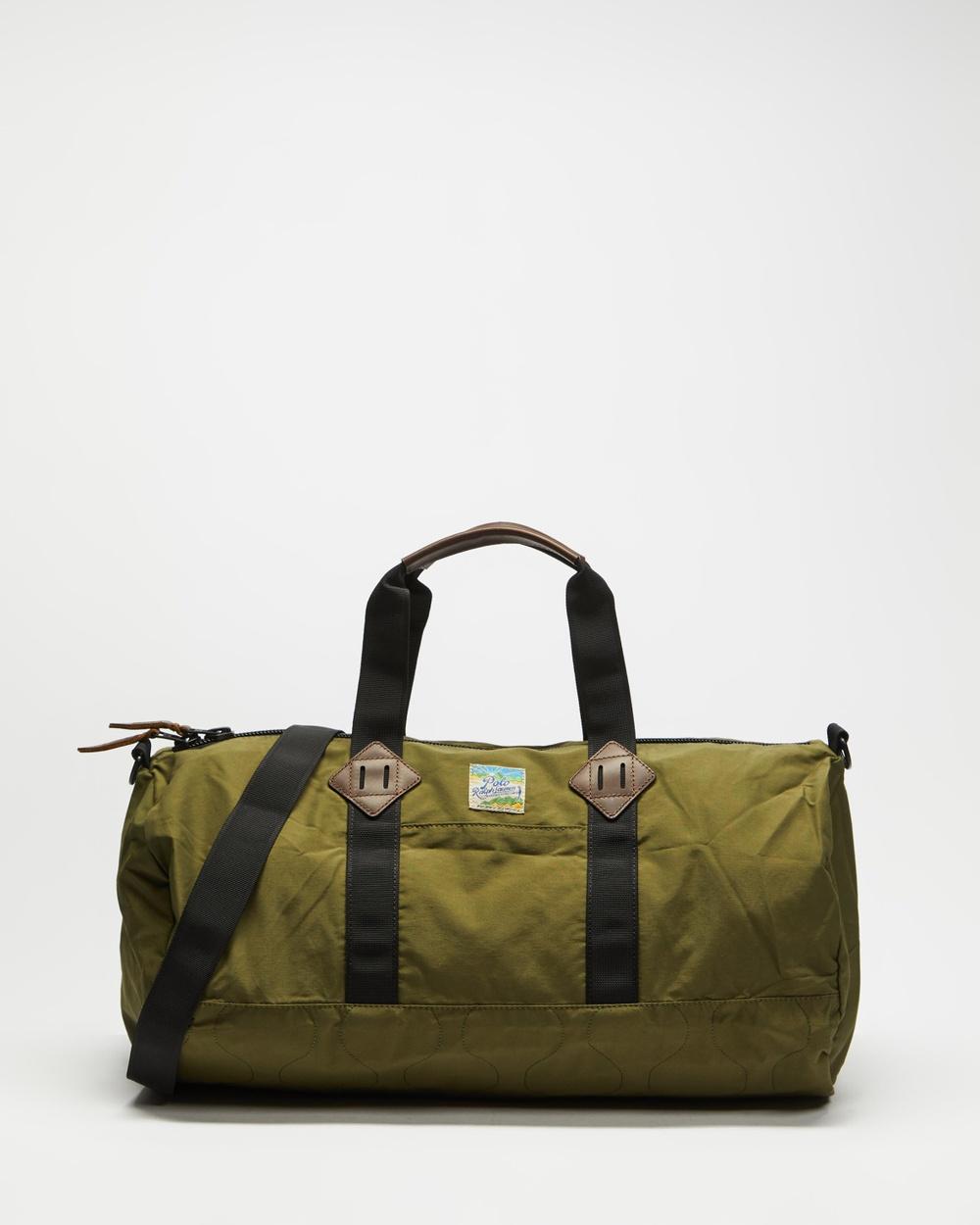 Polo Ralph Lauren Lightweight Mountain Duffle Bags Dark Green
