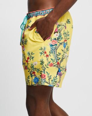 Camilla - Elastic Waist Boardshorts Swimwear (Fit For A King)
