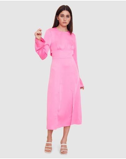 Vestire Heat Midi Dress Pink