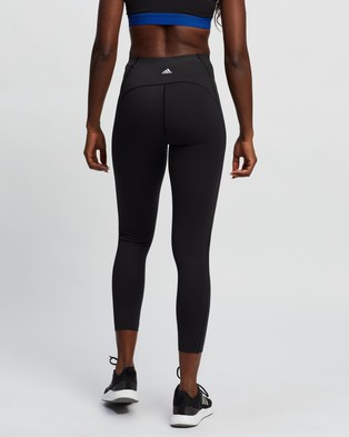 adidas Performance Elevate Yoga Flow 7 8 Tights - 7/8 Tights (Black & White)