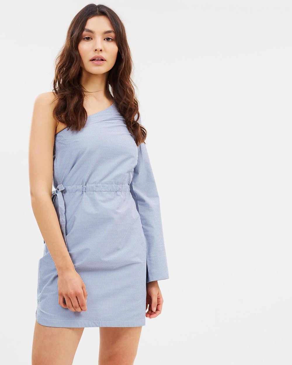 Elka Collective Adaliz Dress Dresses Blue Stripe Adaliz Dress