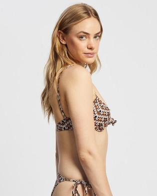 Faithfull The Brand Sariska Top Bikini Tops Vanja Floral Print