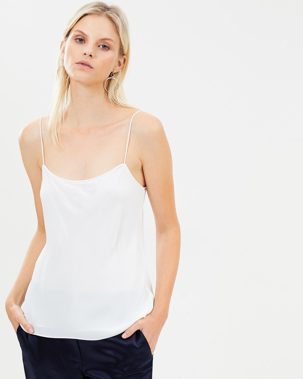 e92b15ea94c11 Silk Combo Slip Top by Theory Online | THE ICONIC | Australia