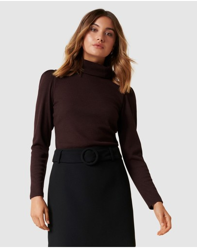 Forever New - Rochelle Roll Neck Fashion Skivvy