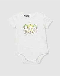 Cotton On Baby - MAY GIBBS - The Short Sleeve Ringer Bubbysuit - Babies
