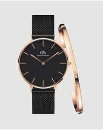 Daniel Wellington - Petite Ashfield + Bracelet L Gift Set