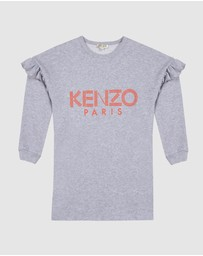 Kenzo Kids - Logo Sweat Dress - Kids