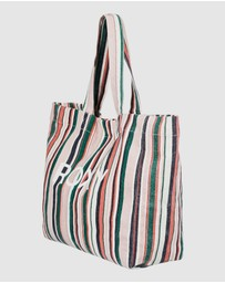 Roxy - Anti Bad Vibes Canvas Tote Bag