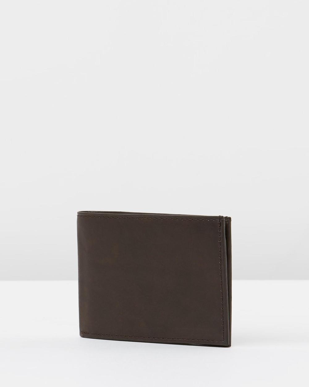 Loop Leather Co Slim Jim Wallets Choc