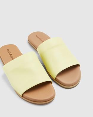 Hush Puppies Paradise - Sandals (Soft Yellow)