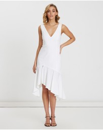 BWLDR - Amalfi Linen Blend Dress