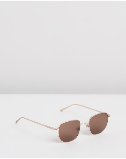 Rixx Eyewear River Gold Polarised