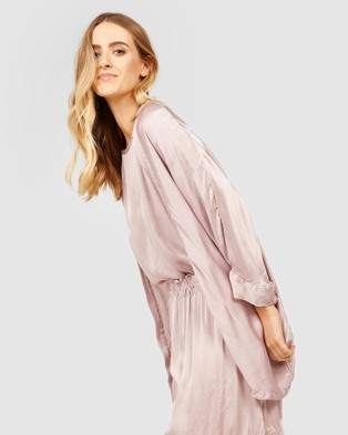 Primness Fluid Kimono - Coats & Jackets (Purple)