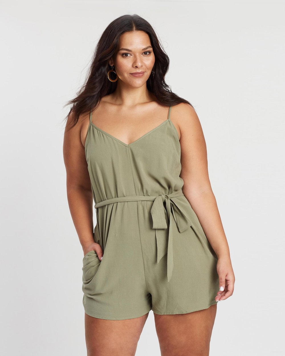 69bfd58ec7 ICONIC EXCLUSIVE - Erica Playsuit by Atmos Here Curvy Online
