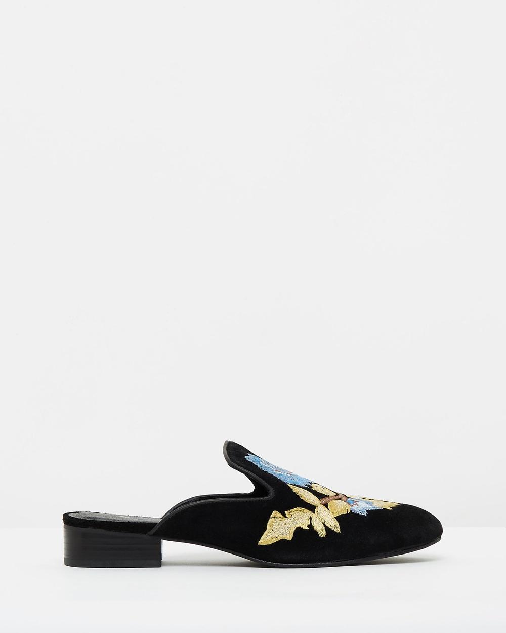 Matisse Bianca Mid-low heels Black Bianca