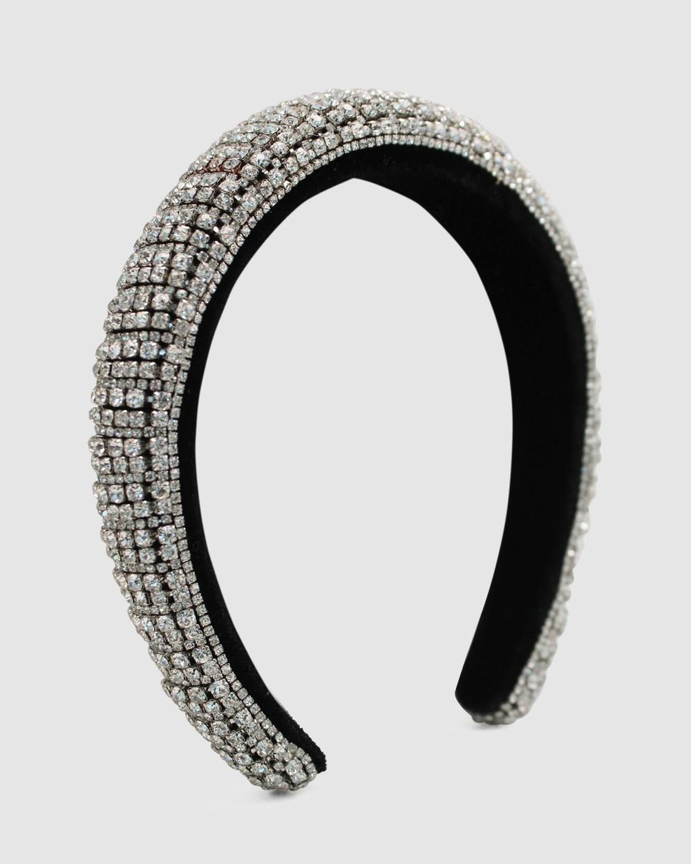 Morgan & Taylor Arabella Headband Fascinators Silver