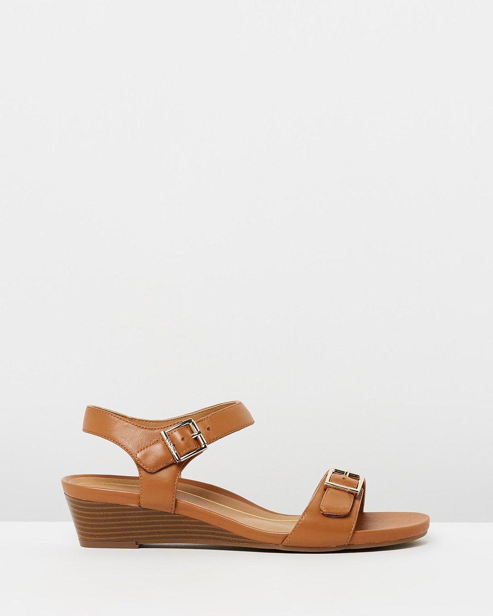 c75ce8799e58 Frances Wedge Sandals by Vionic Online