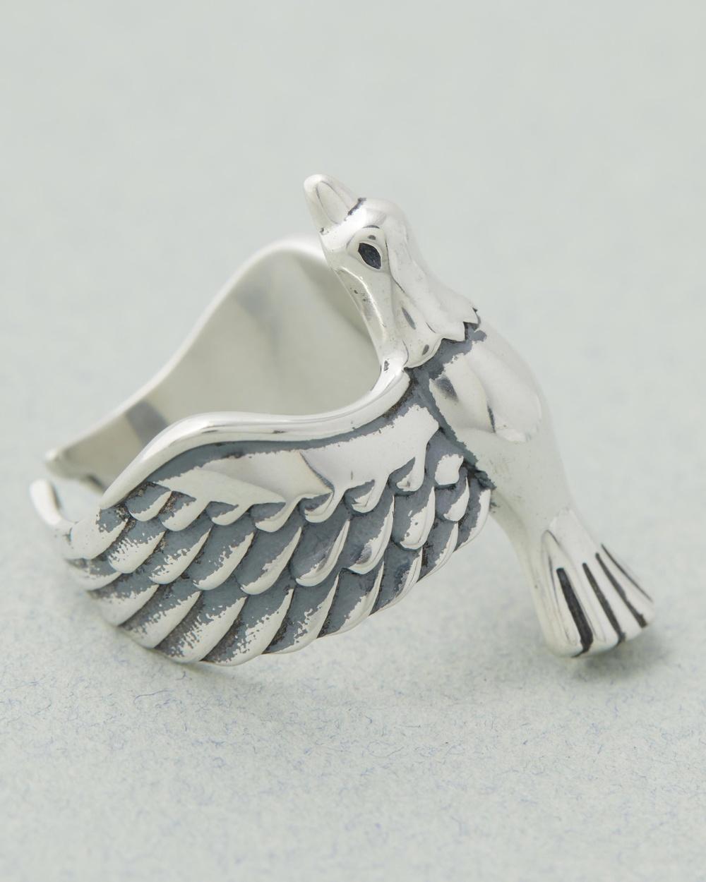 Serge DeNimes Dove Ring Jewellery Silver