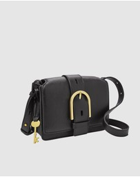 Fossil - Wiley Black Crossbody Handbag