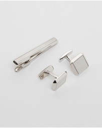 BOSS - Jamis and Tamis Tie Bar & Cufflink Set