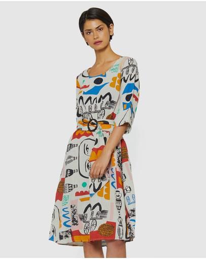 87106670b9f Linen Dresses