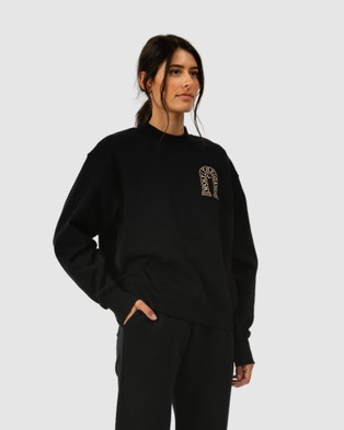 The Wolf Gang Lune Sweater Sweats (Black)