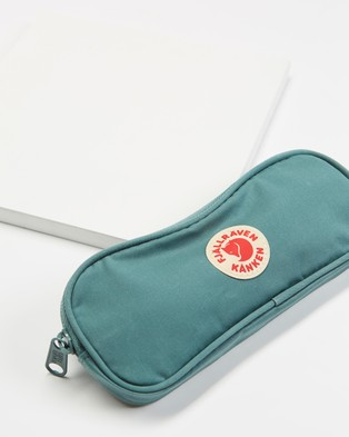 Fjallraven Kanken Pen Case - All Stationery (Frost Green)