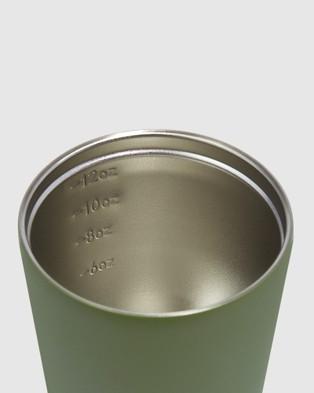 Fressko Camino 12oz Reusable Coffee Cup - Home (Green)