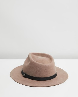 Billy Bones Club The Chief Tan Fedora - Hats (Tan)