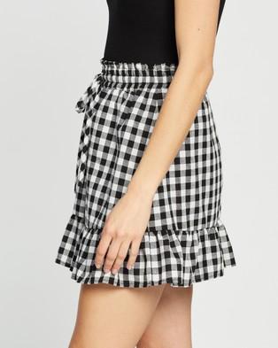 Atmos&Here Tobby Ruffle Skirt - Skirts (Gingham)