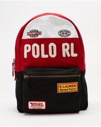 Polo Ralph Lauren - Colour-Blocked Canvas Backpack