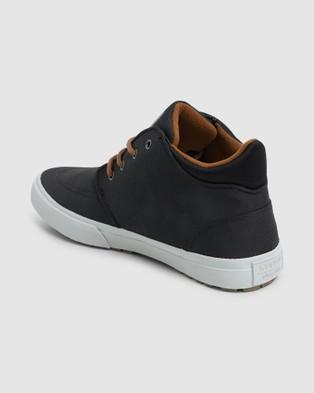 Kustom Hotham Boot - Sneakers (BLACK TOUGH)
