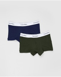 Calvin Klein - ​2-Pack Modern Cotton Stretch Trunks
