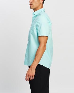 Justin Cassin Malcolm Short Sleeve Shirt Casual shirts Green