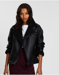 All About Eve - Luxe Aviator Jacket