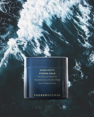 Tucker Browne Shine Putty   Strong Hold - Beauty (Blue)